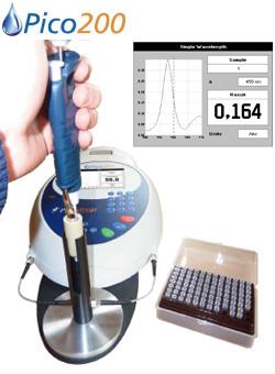 Picodrop社 マイクロリットル分光光度計 Pico200