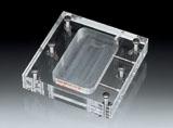 1穴フロー型透析セル