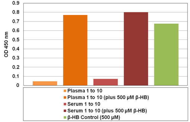 β-ヒドロキシ酪酸の検出