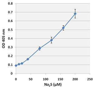 生成した硫化銀スポットの吸光度
