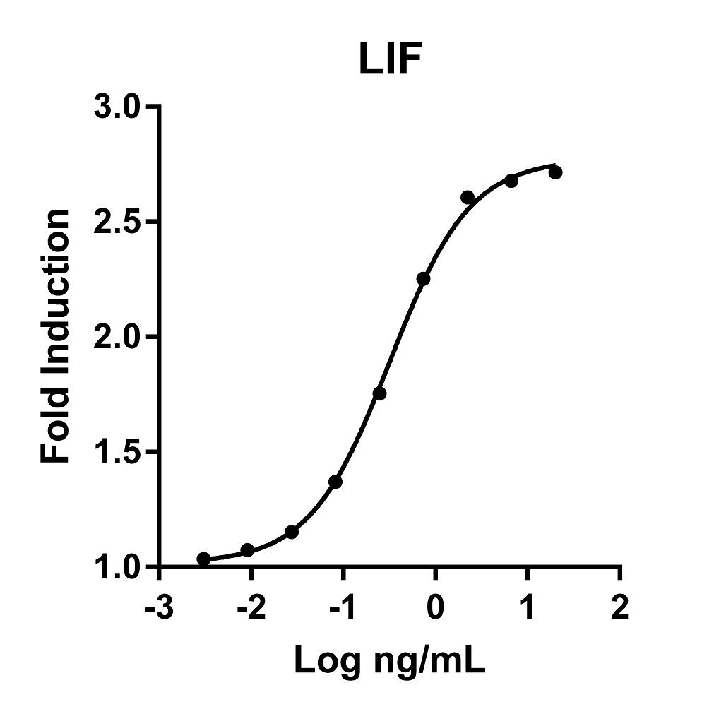 The activity was determined by the dose dependent stimulation of the proliferation of human TF-1 cells (human erythroleukemic indicator cell line) using Promega CellTiter96® Aqueous Non-Radioactive Cell Proliferation Assay.
