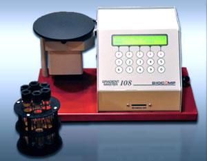 グラジェントマスター コンピューター制御型の密度勾配作製機