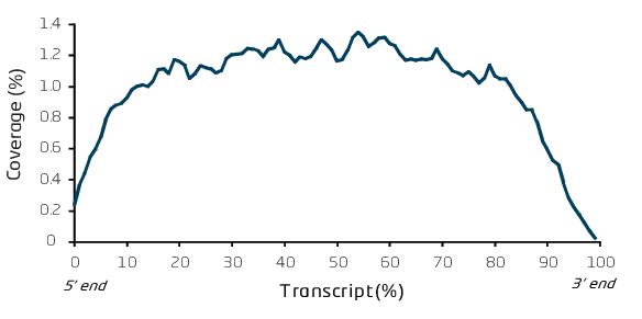 転写物の被覆度が均一かつ低い変動計数