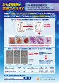 がん幹細胞濃縮抗体 抗CD44vモノクローナル抗体ちらし
